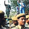 Tension after Ambedkar statue is desecrated