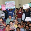 Students disrupt Amartya Sen's lecture over campus suicides