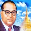 Ambedkar statue desecrated