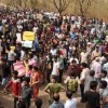 University of Hyderabad students protest report on Rohith Vemula's death